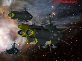 EDF battlefleet by falcon01