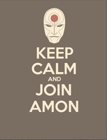 Keep Calm and Join Amon T-Shirt by nokki