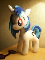 DJ Pon3 Vinyl scratch Plush by EquestriaPaintings