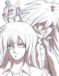 Bakura and Ryou by Eman-Thabet