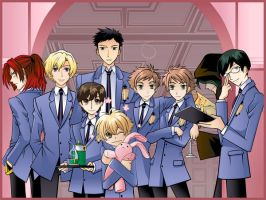 Ouran Group Wallpaper by Vashtastic