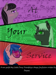 Fanfiction Cover Art - At Your Service (by Deyeaz) by ShadowWeaver97