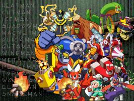 Robot Masters Re-Mastered by Reisoryuh