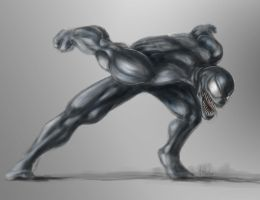 Venom scream by TuaX
