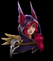 Xayah, the Rebel by kwakbyeol