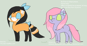 Pony Adoptables ~OPEN~ by IxKawaii