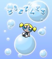 digital : powerpuff girls bubbles 2013 by darshan2good