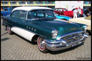 1955  Buick Roadmaster by compaan-art