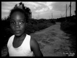Young Jamaican girl by timlori