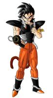 Gingko vers.2 Dragon Ball OC by Teoma-The-Naraotor