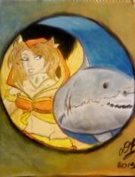 Fire-Fairy / Shark yin-yang by Konack1