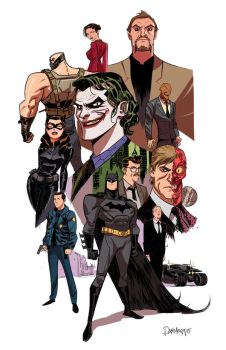 Bruce Timm tribute by Dan-Mora