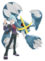 Mega Metagross Steven Stone - Pokemon ORAS Vectors by firedragonmatty