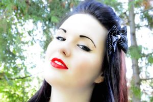 50s pin-up look by SkyeJacqueline