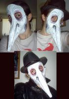 Plague Doctor Mask by Starjuice