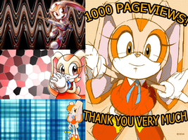 1000 PAGEVIEWS by kamiase