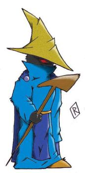 Black Mage - Color by reef