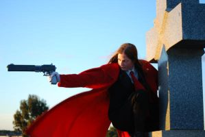 Alucard shoot 4 by p0rtalman