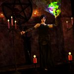 WitchCasting01 by tedclaymore