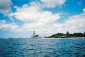 USS MISSOURI 3 by Pwesty