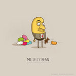 Mr.Jelly Bean by NaBHaN