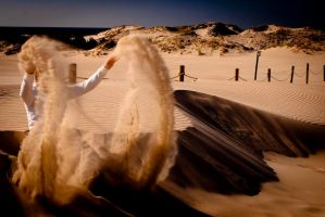 with sand into eyes by esKadr