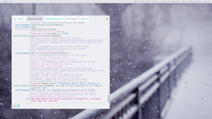[i3] Prettier hexchat by LovelyBacon