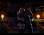 /-Let me stay here, (attached to you)-/ by AngelJasiel