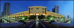 AL-Qasba Panorama by Shoayb