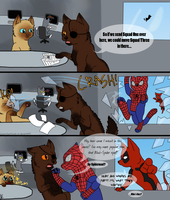 Catvengers: The Fourth Wall by CatsInTheClouds