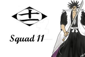 Bleach Squad 11 print by FoxTrotProducts