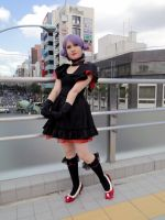 Posing in downtown Tokyo by CelestialShadow19