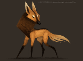 DAY 341. Manned Wolf by Cryptid-Creations