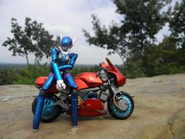 Bubblegum Crisis Priss toy by KickoBang