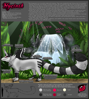 Hycinth REFSHEET 08 by DRGNCAT
