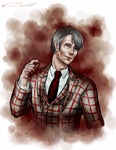 Hannibal - Bloody Monday by Meiseki