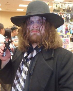 Me as The Undertaker at Days of the Dead by SpiritOfTheWolf87