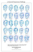 Holmes 25 expressions by joemorrow