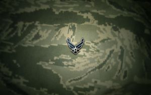 USAF ABU Wallpaper Logo by Falco101