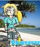 Total Drama Furries- Bridgette by Adeladee