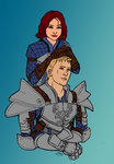 Important Grey Warden Stuff by Shippo3313