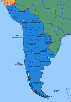 United Provinces of Greater Argentina by LoreC10