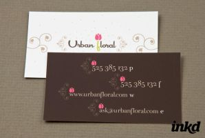 Graphic Floral Shop Business by inkddesign