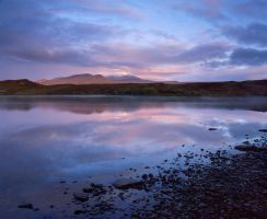 Sunrise on Lochan Hakel by EvaMcDermott