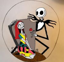 Fixed Jack and Sally by pandababy28