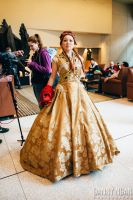 Game of Thrones Sansa Stark Wedding Gown cosplay! by Seattle-Cosplay