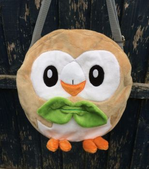 Custom Rowlet Pokemon bag *Available* by angelberries