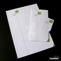 green communication stationary by iknowuneedme
