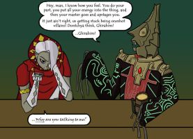 So Two Zelda Villains Walk Into a Bar... by Astrodynamicist