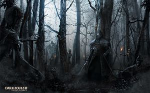 Dark Souls 2 fan art by Emkun
